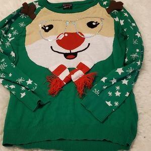 Well Worn brand Christmas sweater